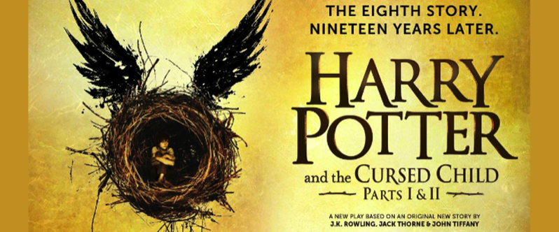 Harry Potter Cursed Child countdown clock